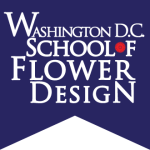 washington dc school of flower design logo