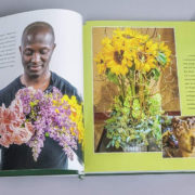 Flower Power inside of book