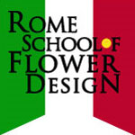 rome school of flower design logo