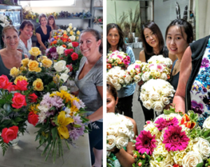 flower design students