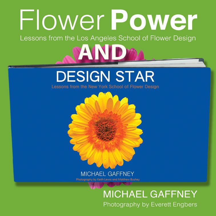 both of mike gaffney 39 s books save flower school 101. Black Bedroom Furniture Sets. Home Design Ideas